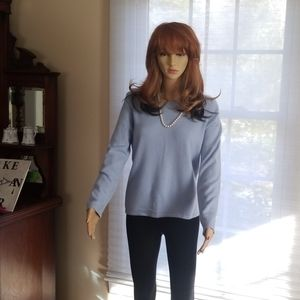 Ann Taylor 2 ply 100% cashmere sweater